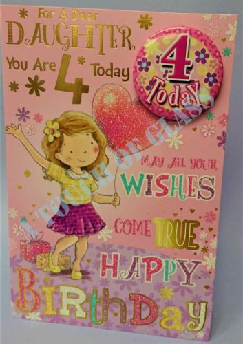 Daughter Son Birthday Cards